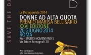 Save the Date Premio Bellisario 2014