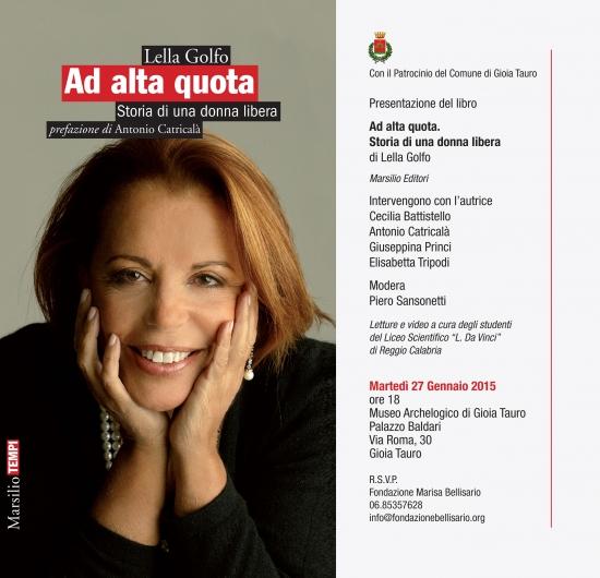 """Presentazione Libro """"Ad Alta Quota."""" Gioia Tauro"""