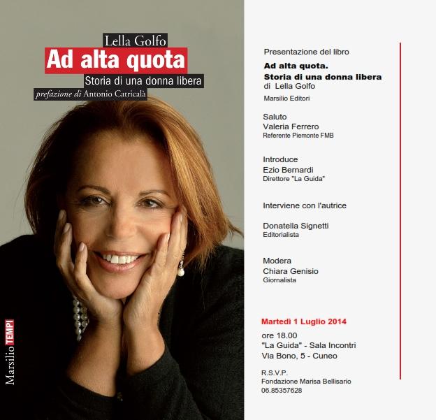 """Presentazione Libro """"Ad Alta Quota"""" Cuneo"""