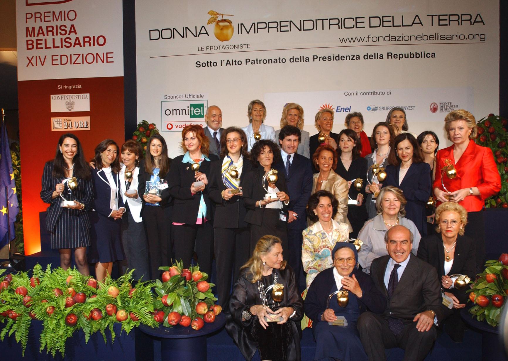 foto maurizio riccardigruppo premio bellisario 2002