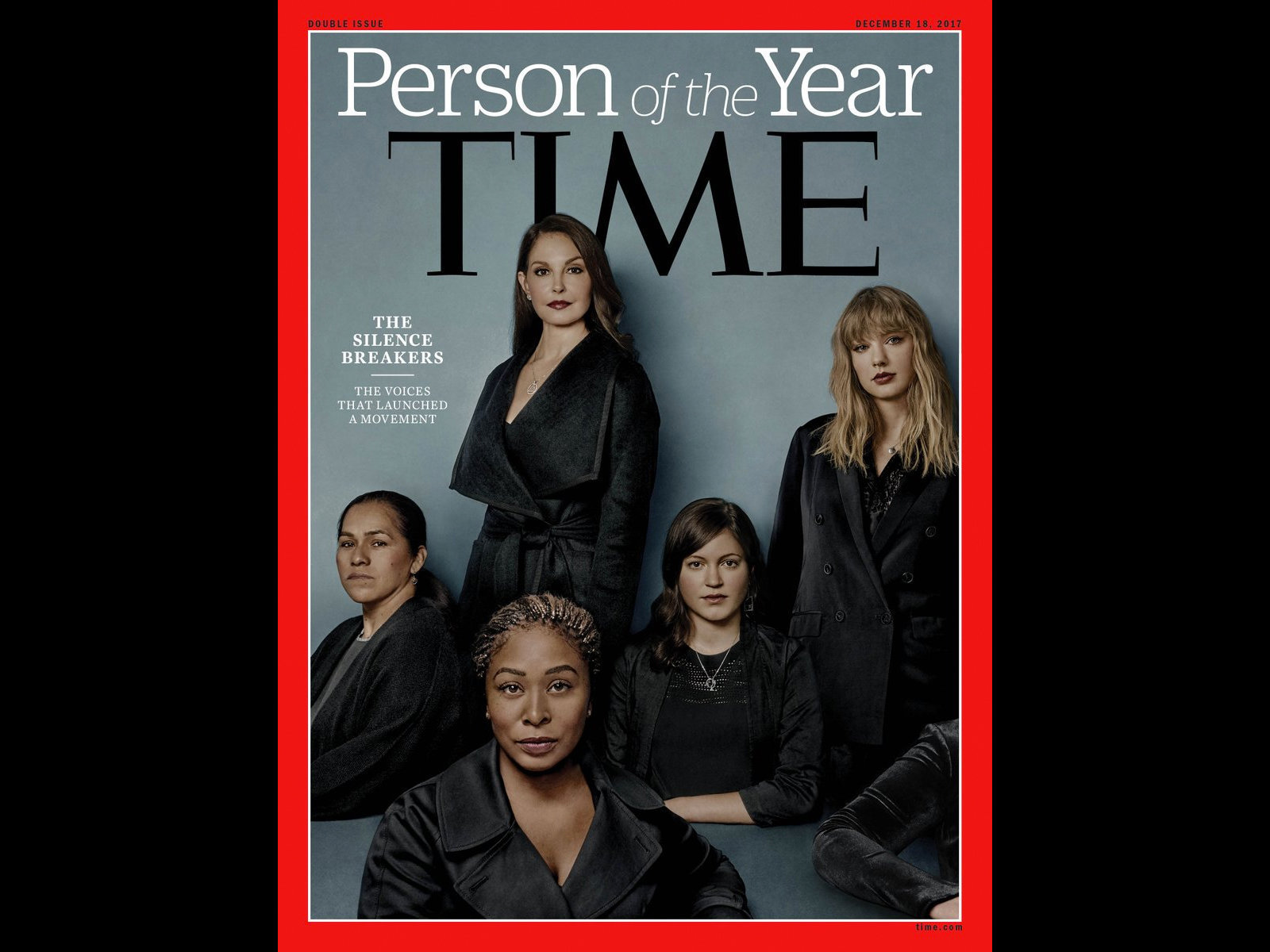 "Le ""Silence Breakers"", Person of the Year 2017"