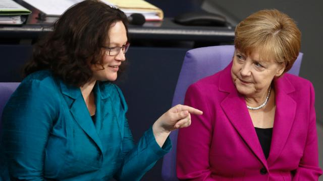 LA GERMANIA GUIDATA DA DONNE