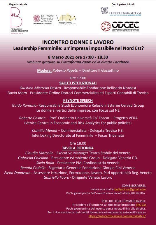 Leadership Femminile: un'impresa impossibile nel Nord Est?