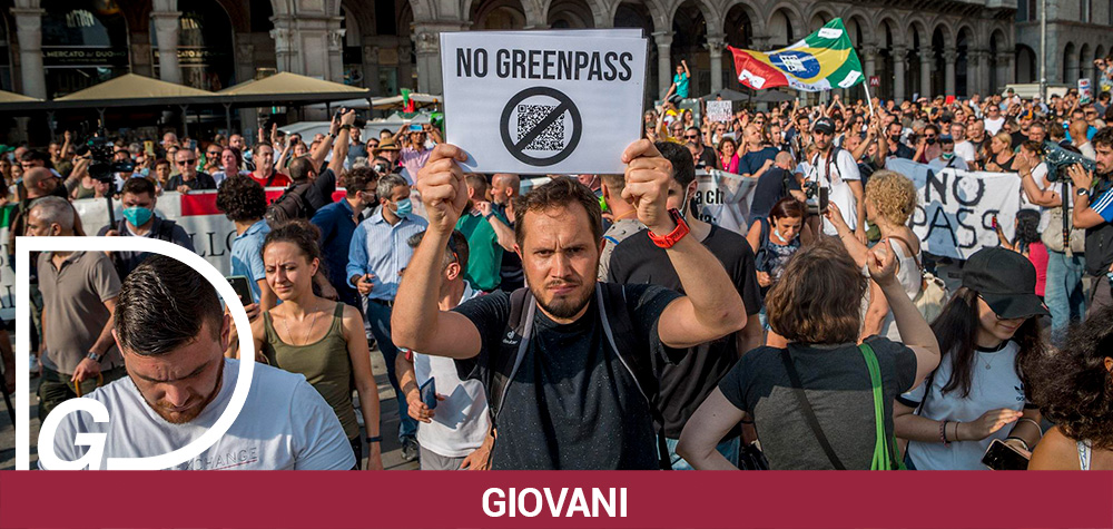 GIOVANI E MOVIMENTO NO GREEN PASS